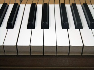 鍵盤のすき間がバラバラ