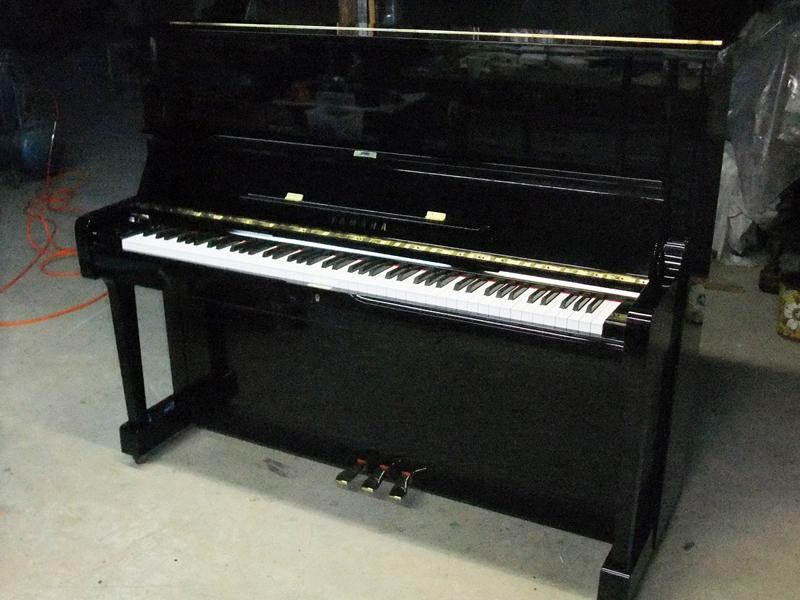 岡本ピアノ工房ピアノクリーニング ピアノリフレッシュ作業の完成