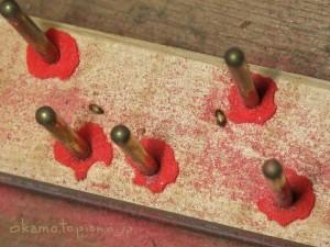 ヒメマルカツオブシムシ食害